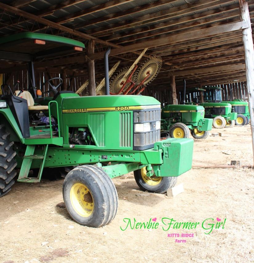 4 tractors