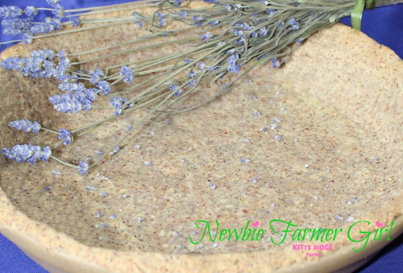 Lavender Pie Crust